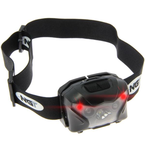 NGT XPR Cree Headlamp - USB Rechargable (140 Lumens)