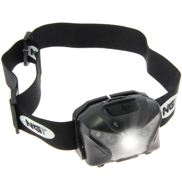 NGT XPR Cree Headlamp - USB Rechargable (140 Lumens)