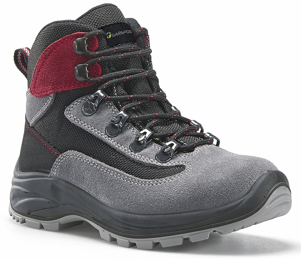 GARSPORT DUBLIN TEX - JUNIOR Water-resistant GREY/RED